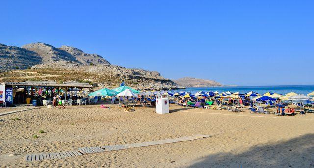 nejkrásnější pláže rhodos