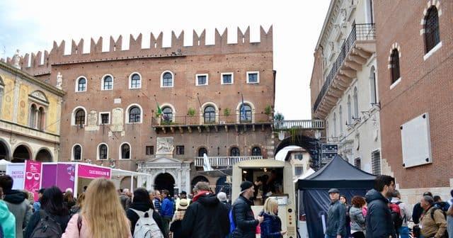 verona itálie památky