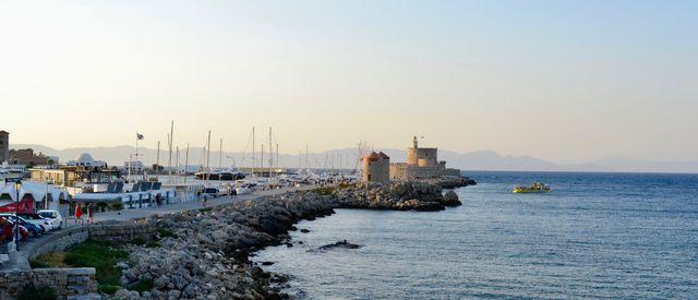 řecko ostrov rhodos