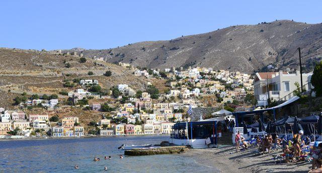 řecko ostrov symi